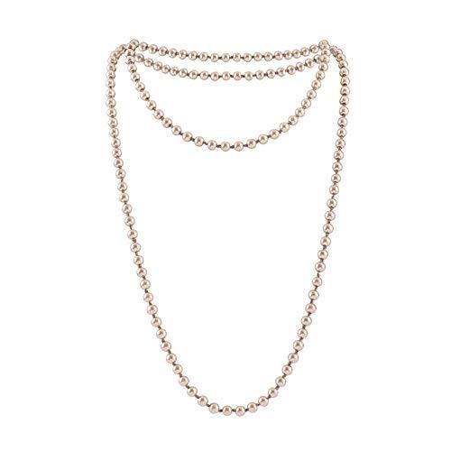ge Perlen Kette Damen Gatsby Flapper 1920s Lange Kette Zubehör Schmuck ()