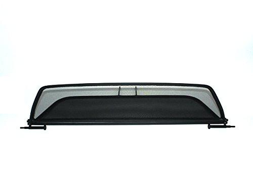 GermanTuningParts Déflecteur de vent pour BMW 6 F12 (2011-2015) - Pliable - avec fermeture rapide - Noir | Filet Anti-Remous Coupe | Déflecteur d'air