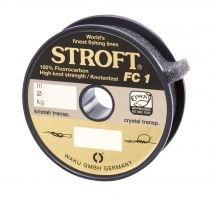 Schnur STROFT FC1 Fluorocarbon 100m, 0.120mm-1.5kg -