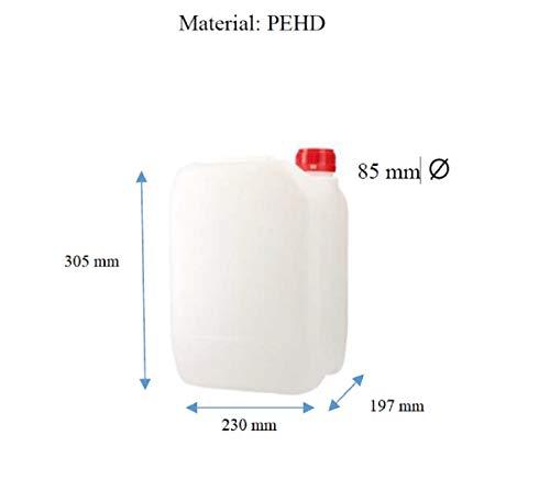 Gefahrensicherer Kanister ADR für 10 Liter Gefahrgut