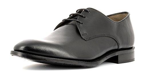Gordon & Bros Herrenschuhe Mirco S500602 Klassischer rahmengenähter Schnürhalbschuh mit Derbyschnürung für Anzug, Business und Freizeit schwarz (Black), EU 46