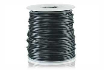Black 22 Gauge Solid Hookup Wire - 100 feet by Radio Shack -