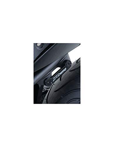 Cache Orifice Repose Pied YAMAHA 320 YZF R3 Noir RG RACING (Unite)