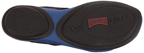 Camper Right Nina, Chaussures Femme Bleu (Medium Blue 046)