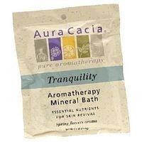 Aura Cacia Mineral Bath Tranquility 2.5 oz ( Value Bulk Multi-pack) by Aura Cacia