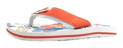 Size 13 Animal Girl's Swish Aop Synthetic Flip Flops