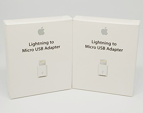 Apple MD820ZM/A Adaptateur Lightning vers Micro USB (dans un emballage non commercial )
