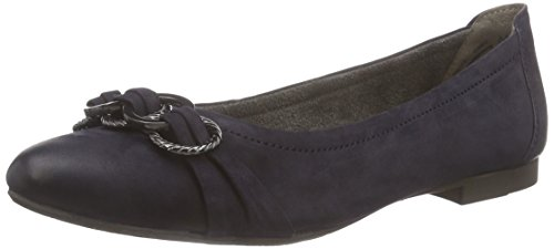 Marc Shoes Penelopez Damen Geschlossene Ballerinas Blau (ozean 790)