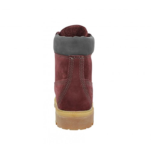 Timberland 6-Inch Premium, Bottes Classiques Homme Rouge