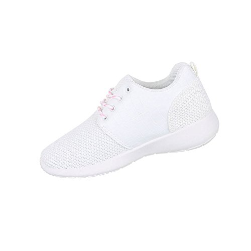 Damen Schuhe Freizeitschuhe Sneakers Turnschuhe Weiß