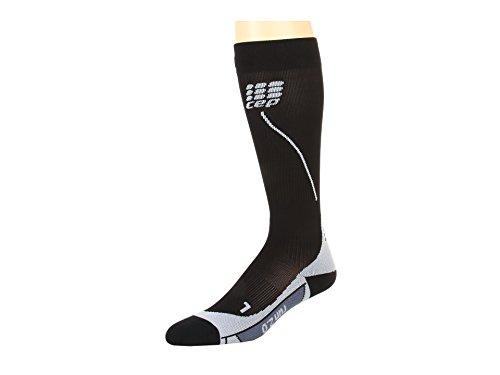 ogressive+ Run Socks 2.0, Black/Grey, Gr.IV ()