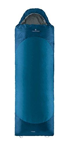 Ferrino, yukon sq, sacco a pelo, unisex, blu