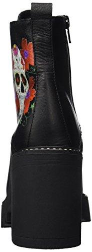Buffalo London 4141 Salvaje, Stivali Donna Nero (Negro 01)