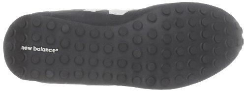 New Balance U410, Sneaker unisex adulto Black