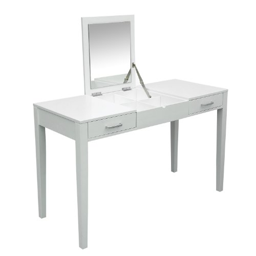 garden wood home desk product drawer with computer modern writing steel table homcom