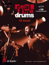Real Time Drums - 10 brani (IT)   + CD