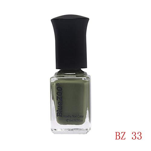Watopi 6ml populaire beauté ongles série verte vernis à ongles professionnel de haute qualité