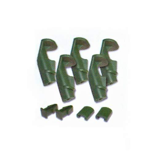 Kleinteile-Set für Aero-Quick Serie + Grüneck Inhalt/Pkg.: 5 Klemmhülsen mit Griff, 2 Deckelclips, 2