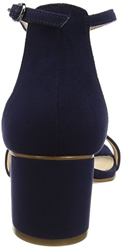 Pumps Da Donna Sconosciute Peeptoe Blu (blu Navy)