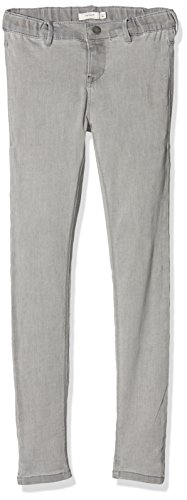NAME IT Mädchen Jeans Nkfpolly Dnmtera 4004 Pant, Grau (Light Grey Denim), 152 (Light Denim Jean Grey Baumwolle)