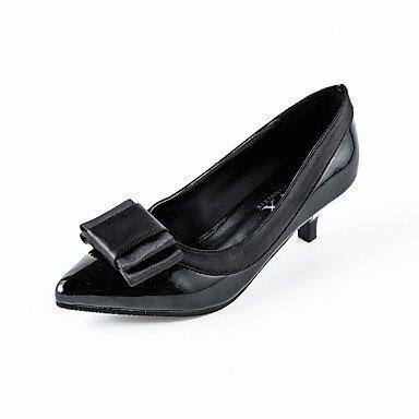 Moda Donna Sandali Sexy donna tacchi Autunno / Inverno Punta / punta tonda PU Esterni / Ufficio & Carriera / Casual Stiletto Heel altre nere Pink