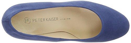 Peter Kaiser Damen Karola Pumps Blau (azur Suede Afric 897)