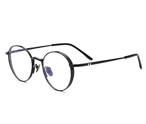 ZFRzxc Computer Blau Blocking Brille Leicht Und Stilvoll Runde Brille Unisex Runde Brille,2