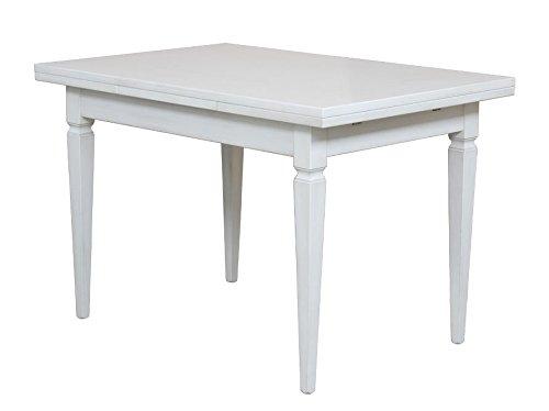 Arteferretto Table allonges laquée 120-200 cm