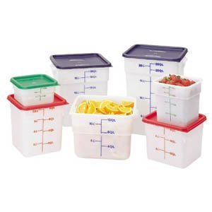 CamSquare Food Container 12 Quart White by Cambro Camsquare Container