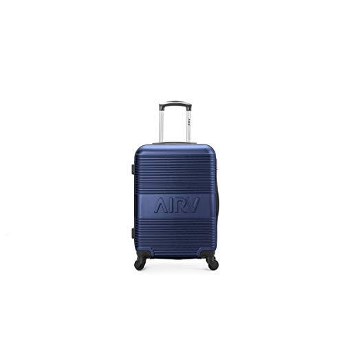 air-v BAGAGES, Valigia Blu blu Large