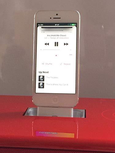 Lightning to 30 pin Adapter für Geneva Model S und L sowie iPhone 5, 5c und SE (5c Iphone Für Adapter Dock)