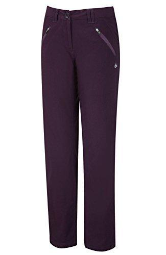 Craghoppers Women's Kiwi Pro Stretch Trousers – Size: 18 Regular, Color: Dark Purple