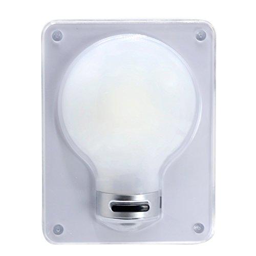 Ruiyue 3W COB 200-300L 6000-6500K Wandlager Innenlampe, mit Schalter Magic Dimmen Nachtlicht, Wireless Switch Batterie betrieben Wand LED Wandleuchte Led decoration