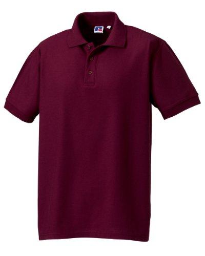 Russell AthleticDamen Poloshirt burgunderfarben