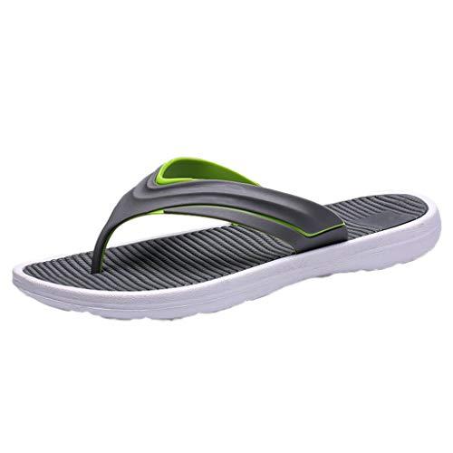 xmansky Herren Damen Laufschuhe Sneaker Straßenlaufschuhe Sportschuhe Turnschuhe Outdoor Leichtgewichts,Sommer-Männer Arbeiten beiläufige Schuhe Feste Strand-Sandelholz-Breathable Flipflops-Schuhe um -