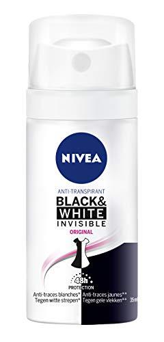 Nivea atomizador Mujer Black & White original déodorants/anti-transpirants