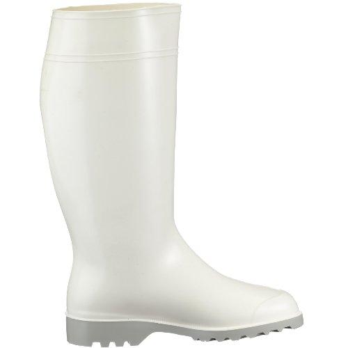 Nora Holzmaxie 72013, Stivali di gomma donna Bianco (Weiss 10)