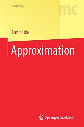 Approximation (Masterclass)