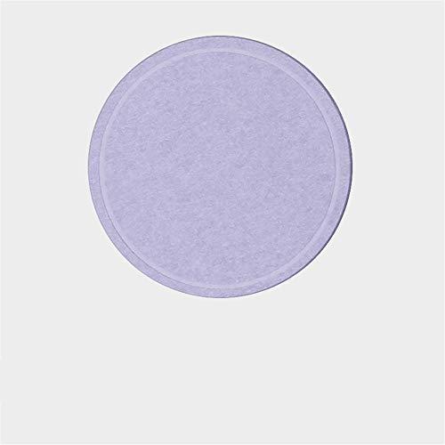 ZCHPDD Natürliche Einfarbige Kieselalgen Schlamm Topf Matte Coaster Isolierung Verbrühungsschutz Absorbieren Kieselalgen Schlamm Topf Matte Schüssel Matte 10 * 10Cm Lila 10 * 10Cm * 4St -