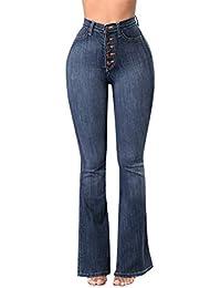 9773311b52 Amazon.es  Pantalones De Campana - 2XL   Vaqueros   Mujer  Ropa