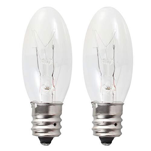 lbs Replacement Long Lasting 15 Watt E12 Socket Warm Light Candelabra Lamp Bulbs (White Light)5pcs ()