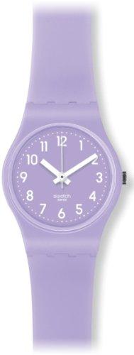 Swatch Berry Sorbet LV114C - Reloj de mujer de cuarzo, correa de caucho color morado