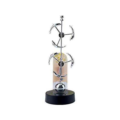HHY-J Newton Desktop Decor Doppel Rad Perpetual Motion Instrument Balance Ball büro Spielzeug,A