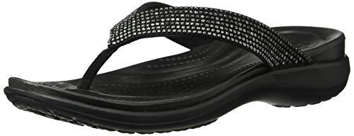 Crocs Women's Capri V Diamante Flip Flop - Crocs-damen Capri