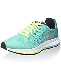 Nike Zoom Pegasus 33 (Gs), Zapatillas de Running Mujer