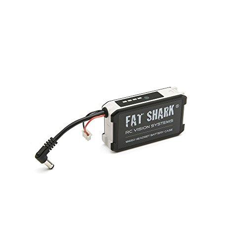 FatShark Batteriefach für 2x18650 Li-Ion Batterien an der Videobrille