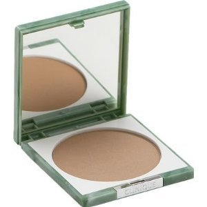 Clinique Stay-matte Sheer .27 Oz / 7.6 Gr Full Size 04 Stay honey Pressed Powder by CoCo-Shop