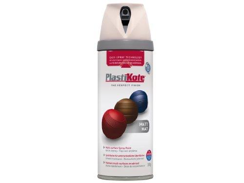 plasti-kote-23103-400ml-premium-spray-paint-matt-antique-white