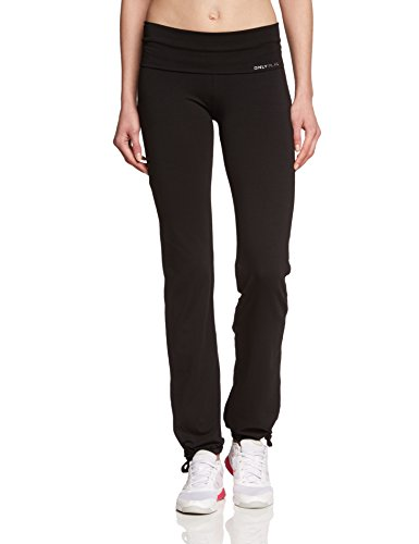 ONLY PLAY Damen Laufhose Fold Jazz Pants Regular Fit, Schwarz, 40/L, 15062199