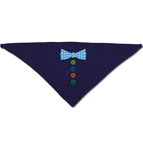 Anlässe Baby - Clown Kostüm Blaue Fliege - Unisize - Navy Blau - BZ23 - Baby-Halstuch als Geschenk-Idee für Mädchen und (Narr Kostüme Mädchen)